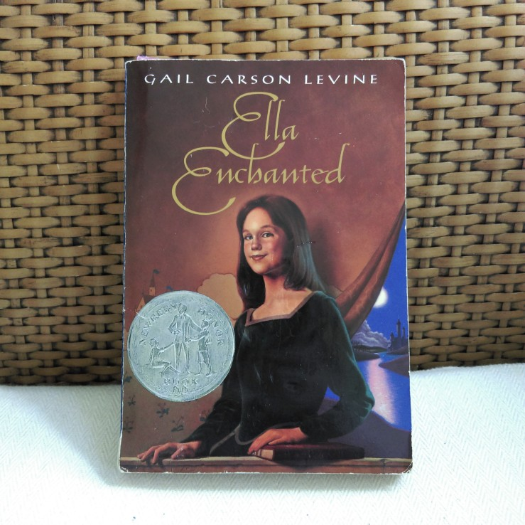Ella Enchanted cover 1